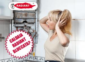 Caldaia Radiant in blocco, come fare per sbloccarla